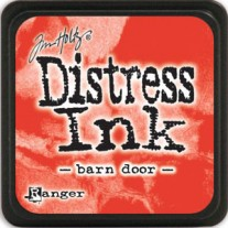Mini Distress Ink Barn Door
