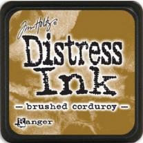 Mini Distress Ink Brushed Corduroy