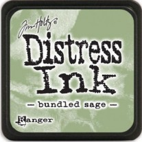 Mini Distress Ink Bundled Sage