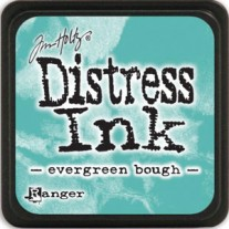 Mini Distress Ink Evergreen Bough