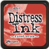 Mini Distress Ink Fired Brick