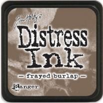 Mini Distress Ink Frayed Burlap