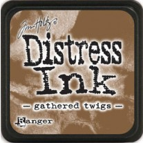 Mini Distress Ink Gathered Twigs