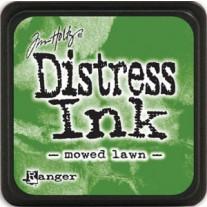 Mini Distress Ink Mowed Lawn
