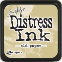 Mini Distress Ink Old Paper