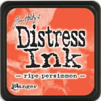Mini Distress Ink Ripe Persimmon