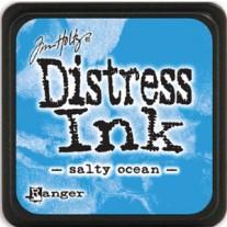 Mini Distress Ink Salty Ocean
