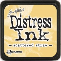 Mini Distress Ink Scattered Straw