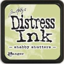Mini Distress Ink Shabby Shutters