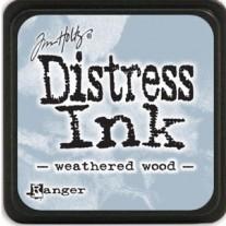 Mini Distress Ink Weathered Wood