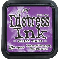 Mini Distress Ink Wilted Violet