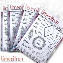 Limecitron Étampe DT Cindy F