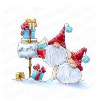 Étampe Stamping Bella Gnomes et cartes de Noël