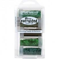 Stampendous Encrusted Jewel Kit Vert