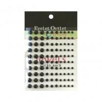 Eyelet Outlet mini Perles noires