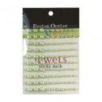 Eyelet Outlet mini Perles vertes