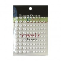 Eyelet Outlet mini Perles blanches