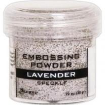 Poudre embossage tachetée Lavender
