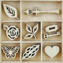 Découpes en bois Bouquet