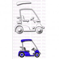 Frantic Stamper Die Cart de Golf