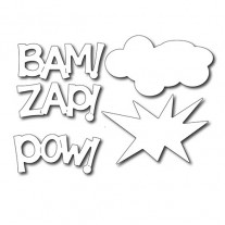 Frantic Stamper Dies Pow Zap Bam