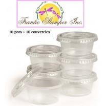 Frantic Stamper Pots & couvercles 2 onces