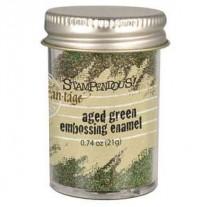 Stampendous Aged Embossing Enamel Vert