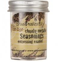 Stampendous Seasoning Chunky Metallic Embossing Enamel