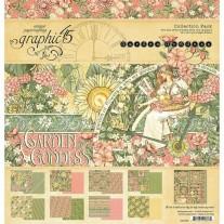 "Graphic 45 Pad 12"" X 12"" Garden Goddess"