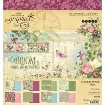 "Graphic 45 Pad 8"" X 8"" Bloom"