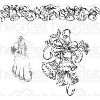 Heartfelt Creations Étampe Cloches de mariage