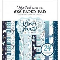 """Echo Park Pad 6"""" X 6"""" Hiver magique"""