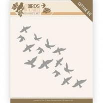 Jeanine's Art dies Volée d'oiseaux