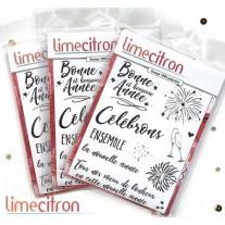 Limecitron Étampe Kit Nouvelle Année