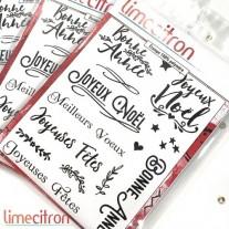Limecitron Étampe Kit Voeux de Noël