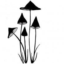 Lavinia Étampe Champignons minces miniatures
