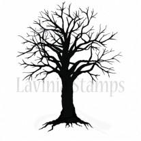 Lavinia Étampe Arbre effrayant