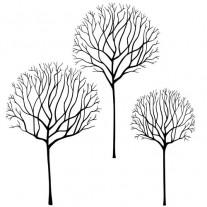 Lavinia Étampe Scène d'arbre squelette