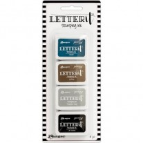 Ranger Letter It Mini Archival Ink Ensemble #1