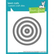 Lawn Fawn Matrice de découpe Small Stitched Cercles