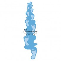 Marianne Design Empreintes de Pieds (embossage)