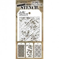 Tim Holtz Ensemble Mini Stencil 4