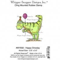 Whipper Snapper Étampe Happy Dinoday