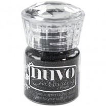 Nuvo Poudre embossage Glitter Noir