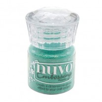Nuvo Poudre embossage Lagon Turquoise