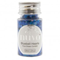Nuvo Confetti Mermaid Bluebell Hearts