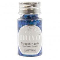 Nuvo Confetti Mermaid Bluebell Hearts