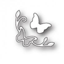 Poppystamps Dies Coin mini Papillon