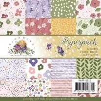 """Precious Marieke Paper Pack 6""""X6"""" Été florissant"""