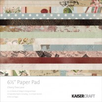 "Kaisercraft Pad 6.5""X6.5"" Cherry Tree Lane"
